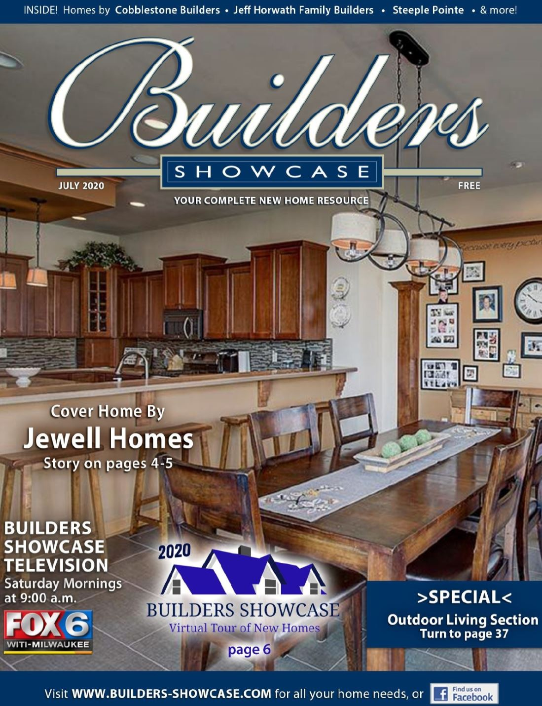 Jewell Homes on the Cover