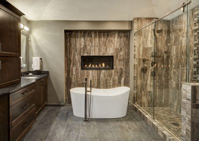 Bathroom remodel by Design Tech Remodeling